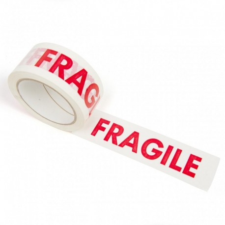 "Packaging Tape Printed ""FRAGILE"" 50mm"
